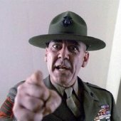 """Gunnery Sergeant Hartman: """"I want you two turds to clean the head."""""""