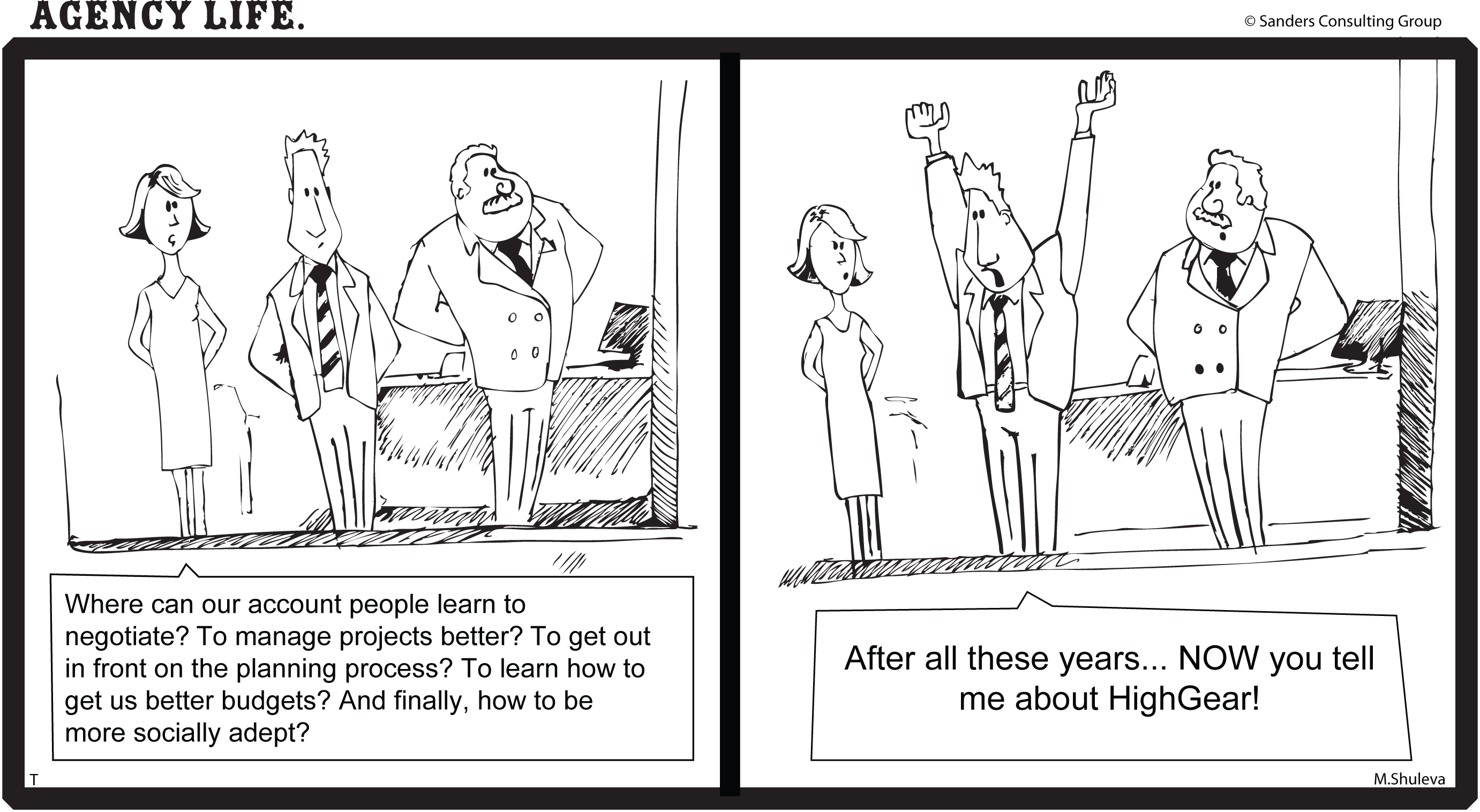 Transform your team. Grow your agency. Retain more clients.