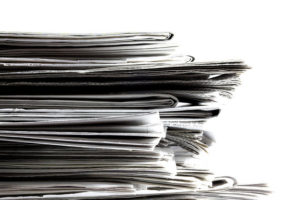 decline of newspaper